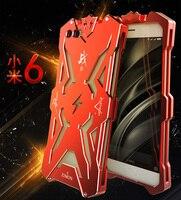 Simon Case For Xiaomi Mi6 Shockproof Metal Back Cover For Xiaomi Mi6 Plus Armor Metal Aluminum