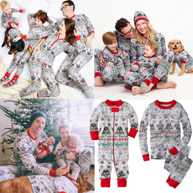 2e2044c2d9f0 Snowflake Christmas Family Pajamas
