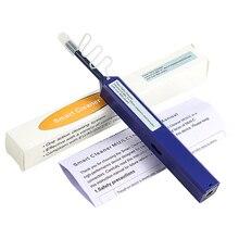 Optik Elyaf Iletişim araçları tek bir Tıklama 1.25mm LC Konnektörü Fiber Optik Temizleyici ve LC MU Fiber Optik Temizleme Kalem