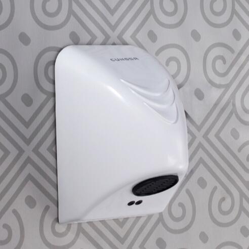 ФОТО  Bathroom Hotel or home Automatic Hand Dryer hand drier machine Wall Mounted electric sensor hand drier hand dry device EU Plug