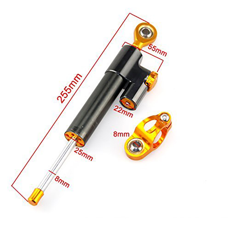 MT 07 MT 09 Damper Steering Stabilizer Linear Reversed Safety Control For Kawasaki Z900 For Yamaha MT-09 MT-07 For Honda For BMW cnc motorcycle steering damper stabilizer linear reversed safety control for honda yamaha kawasaki suzuki bmw