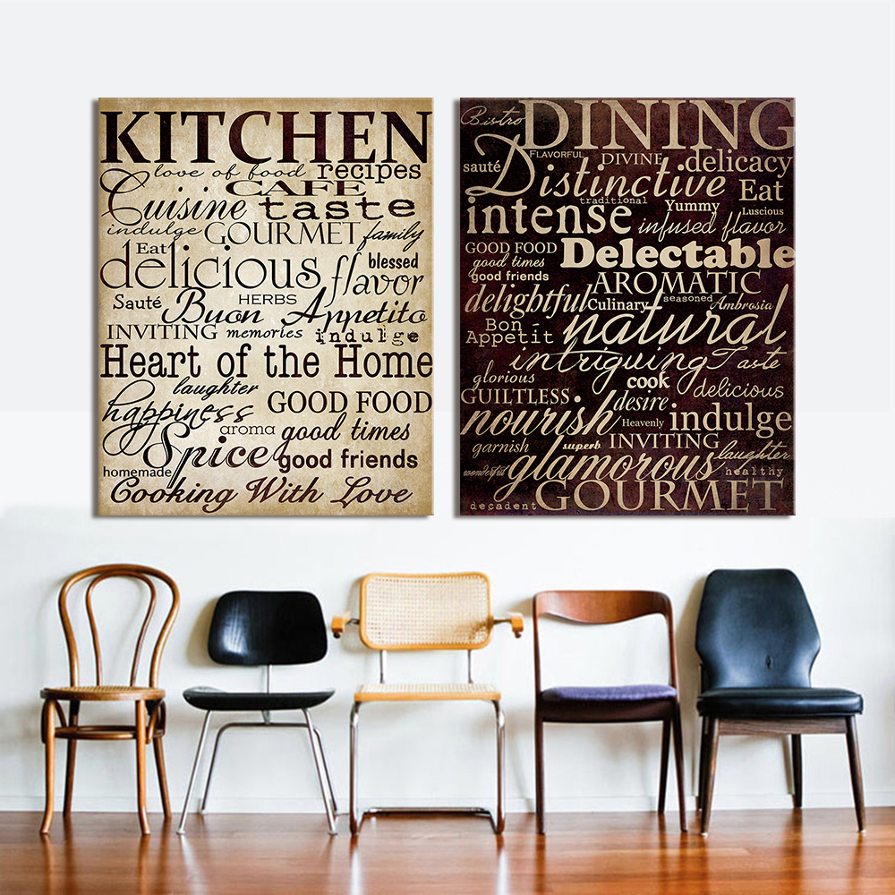 Word Art Home Decor: Aliexpress.com : Buy HDARTISAN Wall Pictures For Living