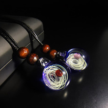 andy Jewellery Manual work of Art Cosmic Pendant Necklace Star glass opal jewelry A birthday present Valentines Day gift