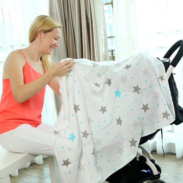 Organic Cotton Blanket Excellent As A Washable Diaper For All (0-3 years) Nursery Shop by Age Swaddle Blankets Washable Diapers