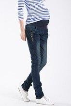 Деним беременность прямой джинсы беременных брюки одежда женщины для