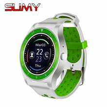 Slimy R10 WristWatch Bluetooth Smart Watch Sport Pedometer with SIM Camera Smartwatch For Android Smartphone Russia T15 PK V9 V8(China)