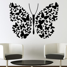 Fashin Style Hot Popular Beautiful Butterflies And Flowers Wall Sticker Vinyl Art Decals For Home Decoration Y-722