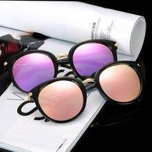 2019 New Women Fashion Classic Sunglasses Oval Driving Mirrors vintage Oculos De Sol UV400