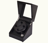 Luxury New Movement 2 Storage Spaces Automatic Watch Winders Box Free Shipping