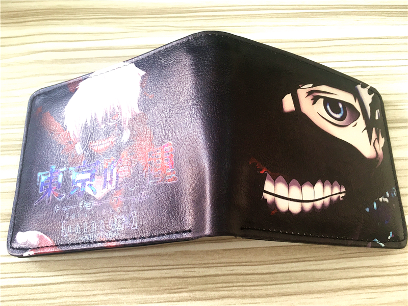 2018 Tokyo Ghoul wallet Young men and women students personality short animated cartoon fashion purse W331