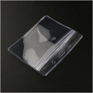 Одноразовый дозатор 100 шт., водонепроницаемый пластиковый горизонтальный держатель для карт