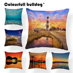 ba3d9bade76c Style Covers Cushion Cases Trees Pillows Sofa Cotton