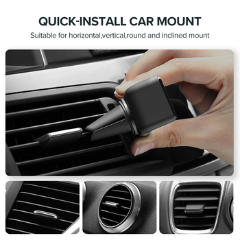 Ugreen Car Phone Holder for Your Mobile Phone Holder Stand for iPhone 11 8 Air Vent Mount Cell Phone Support in Car Phone Stand 4