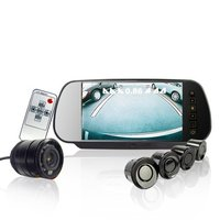 super hottest car reversing Set Sensors + Rearview Camera + Rearview Screen wholesale and resale