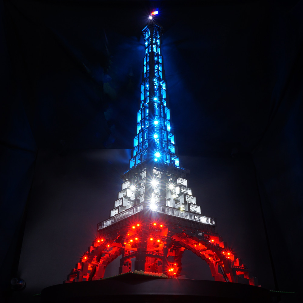 Kyglaring Led Light kit for 10181 not include the bricks set The Eiffel Tower