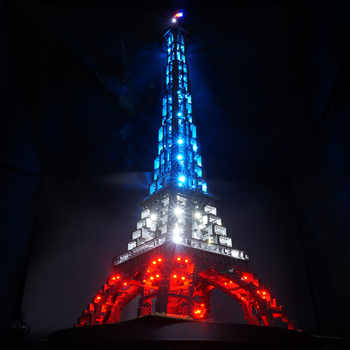 Kyglaring Led Light kit  for  10181  ( not include the bricks set ) The Eiffel Tower - DISCOUNT ITEM  0% OFF All Category