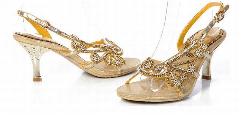 Strass Chaussures Sandals wedding Femelle Boucle Diamant women Hot Gold Black Shoes Gladiateur Nouvelles Talons Parti Luxe Pompes De New D'été Purple Sandales Sexy Marque Hauts 2016 fwwgHqY6
