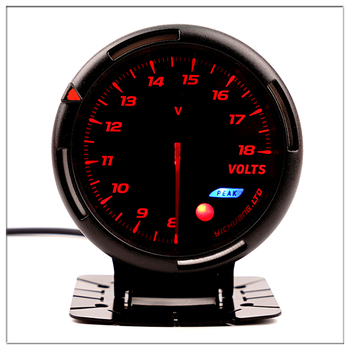 DEFI Car Voltmeter For BMW E 30 34 36 38 39 46 53 60 82 83 87 90 92 Mini Round black pointer luminous boost gauge saat 60mm image