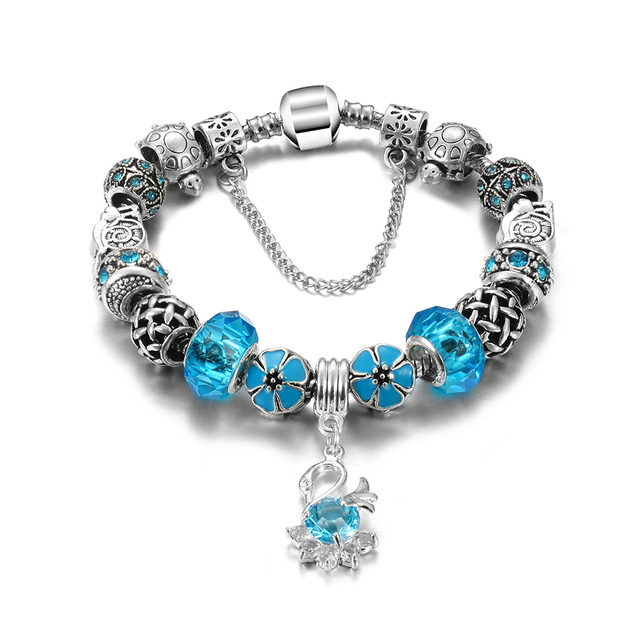 Female Colorful and Lovely Crystal Bracelet