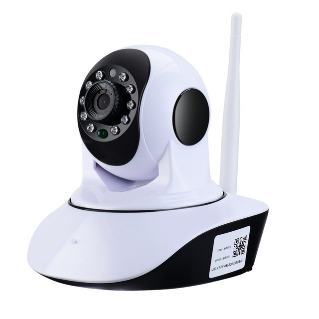 1280*720 HD 180 Degree View Wireless WiFi IP Camera Household Baby Monitor TF Card Record Audio Video Surveillance Camera