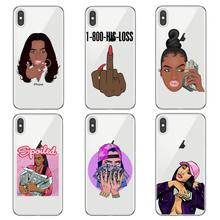 KDMOJI MONEY STACKS Clear Silicone Phone Cases for iPhone Xs