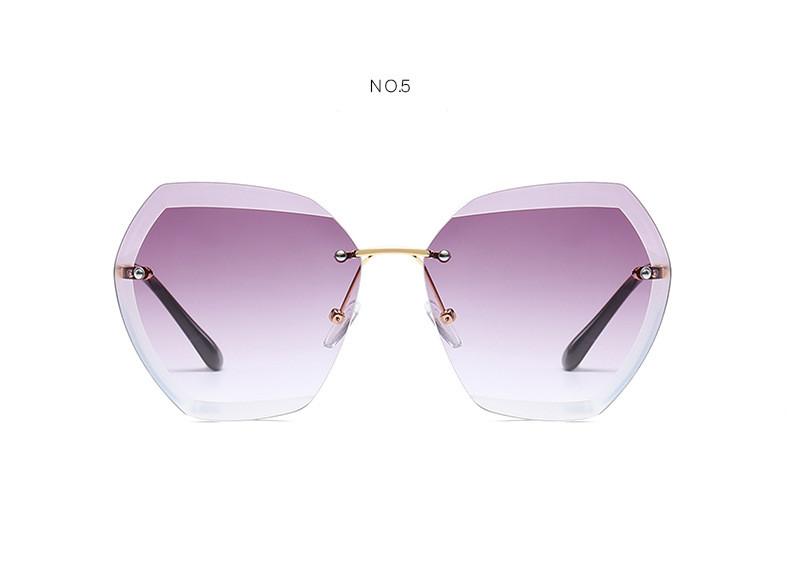 HTB1sdwAfsbI8KJjy1zdq6ze1VXat - Luxury Vintage Rimless Sunglasses Women Brand Designer Oversized Retro Female Sunglass Sun Glasses For Women Lady Sunglass 2018