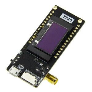 Image 4 - TTGO LoRa32 V2.1 _ 1,6 Version 433/868/915Mhz ESP32 LoRa OLED 0,96 Inch SD Karte Bluetooth WIFI Drahtlose Modul ESP 32 SMA