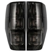 Копченый Edition автомобиля задний левый/правый задний фонарь чехол для Ford Ranger PX T6 T7 MK1 MK2 WildTrak XLT XL XLS 2011-2018