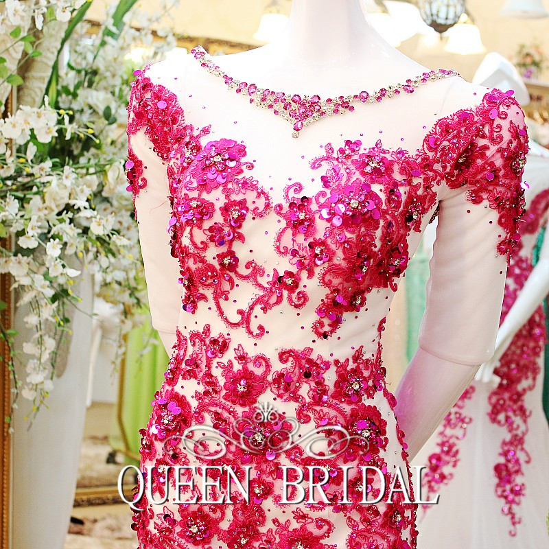 Индивидуальный заказ сексуальное длинное вечернее платье кружевное платье-Русалка с вечерние платье бусины, жемчужины одежда праздничная DF70