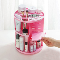Make Up Organizer 360 Degrees Rotating Cosmetic Storage Rack Lipstick Jewelry Case Holder Display Stand Cosmetic Box Popular