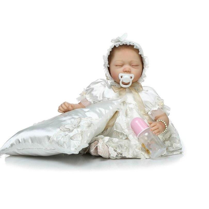 ∞Realista algodón Cuerpo renacido bebés Muñecas Niñas Navidad ...