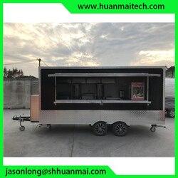 Mobile Küche Lebensmittel Anhänger Catering Lkw Konzession Anhänger