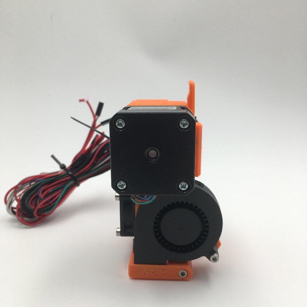 Prusa i3 mk2 extrudeuse kit complet, PLA pièces imprimées, cloné Btech double-pignons d'entraînement, avec hotend, X transport, P.I.N.D.A. sonde