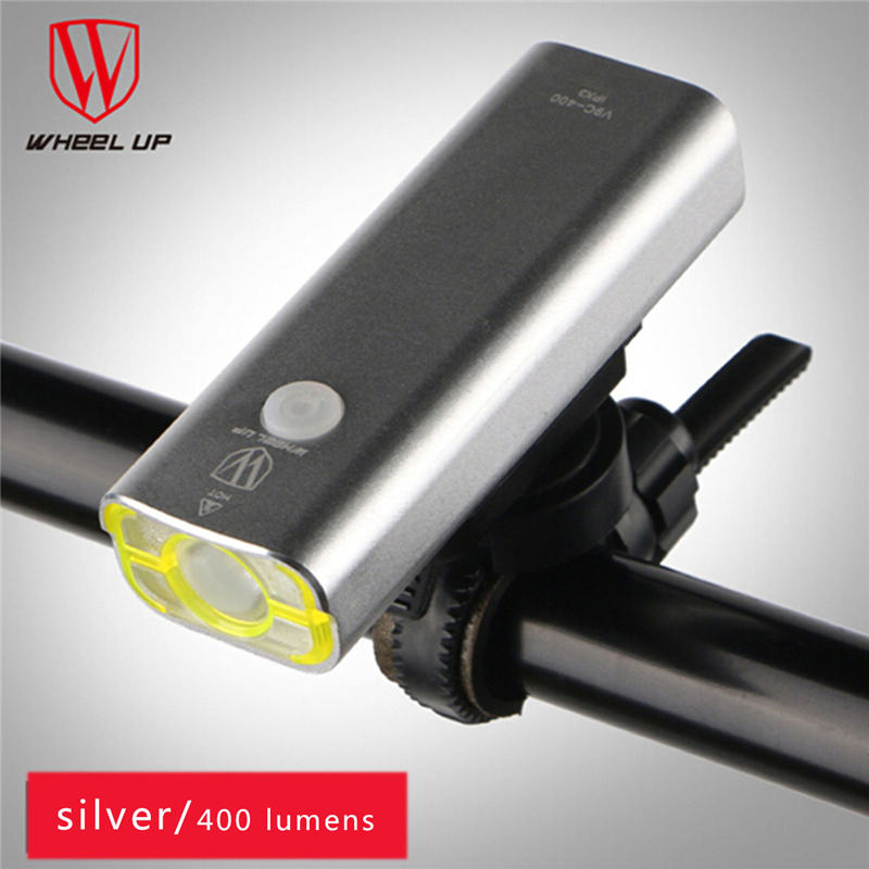 WHEEL UP Bycicle Light Front Led Waterproof Cycling Lights Usb Rechargeable Bicycle Universal powerful Battery bike light holder
