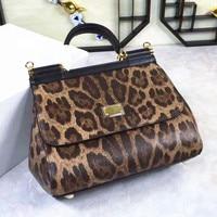 Unbelievable Charm! Perfect Quality! New Fashion Leopard Drills, Large, Sloping, Retro, Casual, Handbag, Shoulder Bag, Women Bag