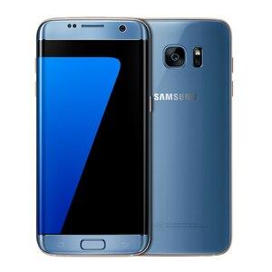 Image 2 - Sbloccato originale Samsung Galaxy S7 bordo G935F/G935V del telefono mobile 4GB di RAM 32G ROM Quad Core NFC WIFI GPS 5.5 12MP LTE