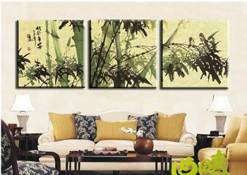 Modern fashion abstract oil  painting on canvas Hand painted   bamboo safe life paintings NO frame