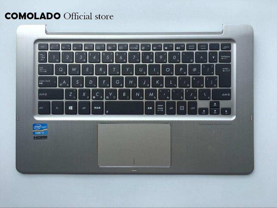 Clavier japonais JP pour clavier ASUS TX300 TX300CA avec boîtier supérieur avec rétroéclairage JP