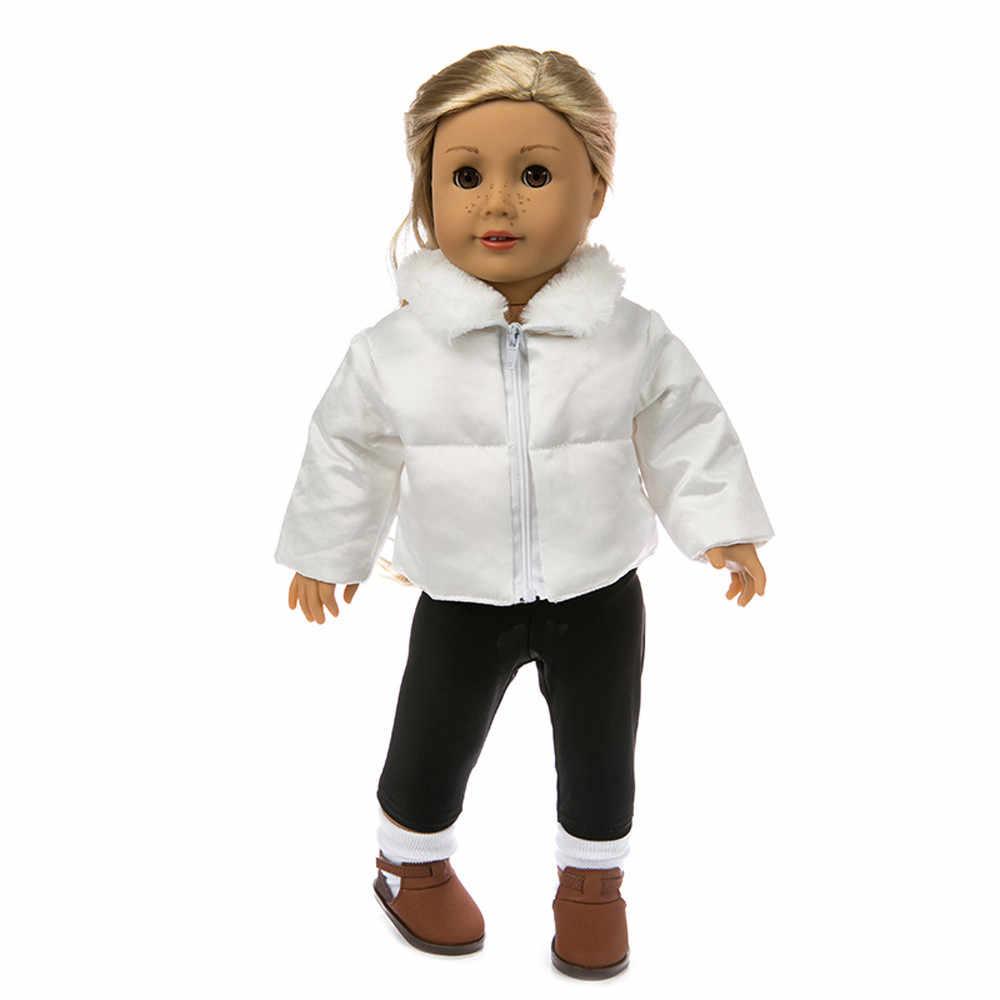 Милая одежда пуховая куртка для 18 дюймов американский мальчик Кукла аксессуар девушка игрушка Соединенные Штаты