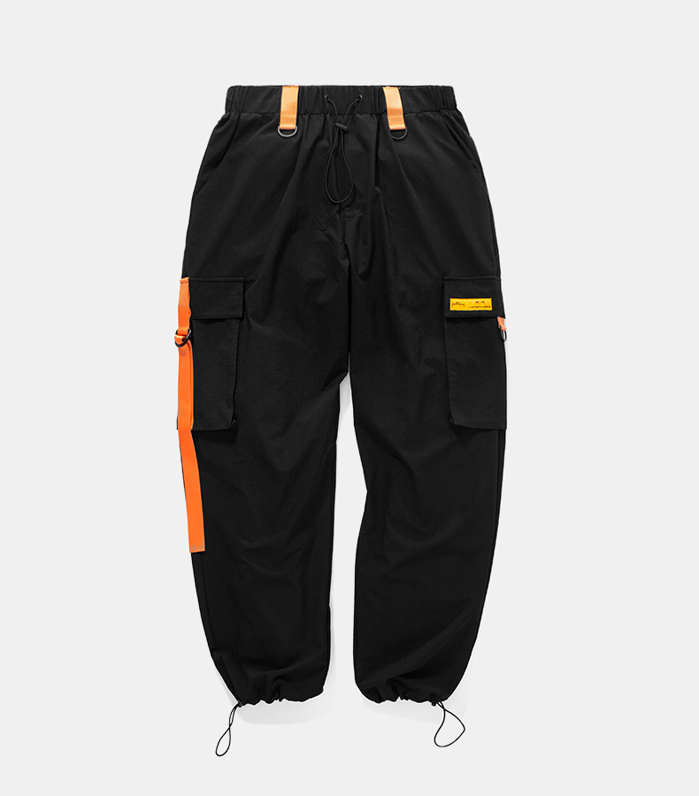 ce6bc0857 HP023 Unisex Hip Hop Patchwork Track Pants - NewSoul Collection