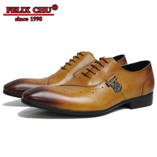 Italian Leather Shoes Men Luxury Lace Up Pointed Toe Brown Black Wedding Business Brogue Formal Shoes Leather Men Oxfords Shoes недорого