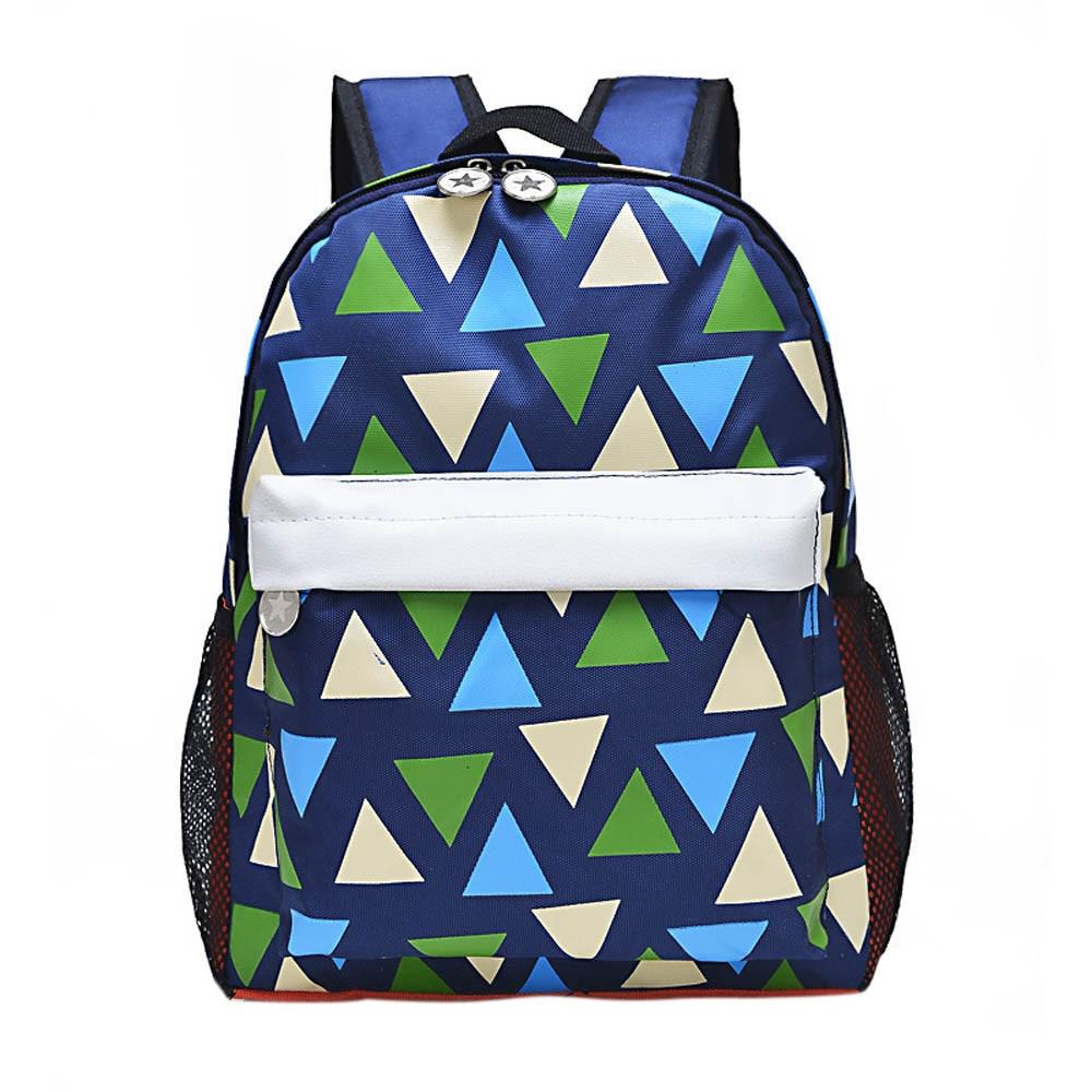 Новая мода Дизайн Детские печати холст свежий школы рюкзак ребенка Повседневное сумка Обувь для девочек путешествия рюкзак La Mochila jan9