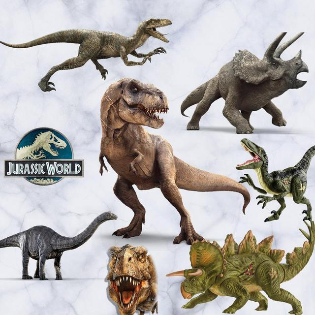 Di alta Qualità Adesivi Murali 3d Dinosaur Jurassic Disposizione della Stanza St