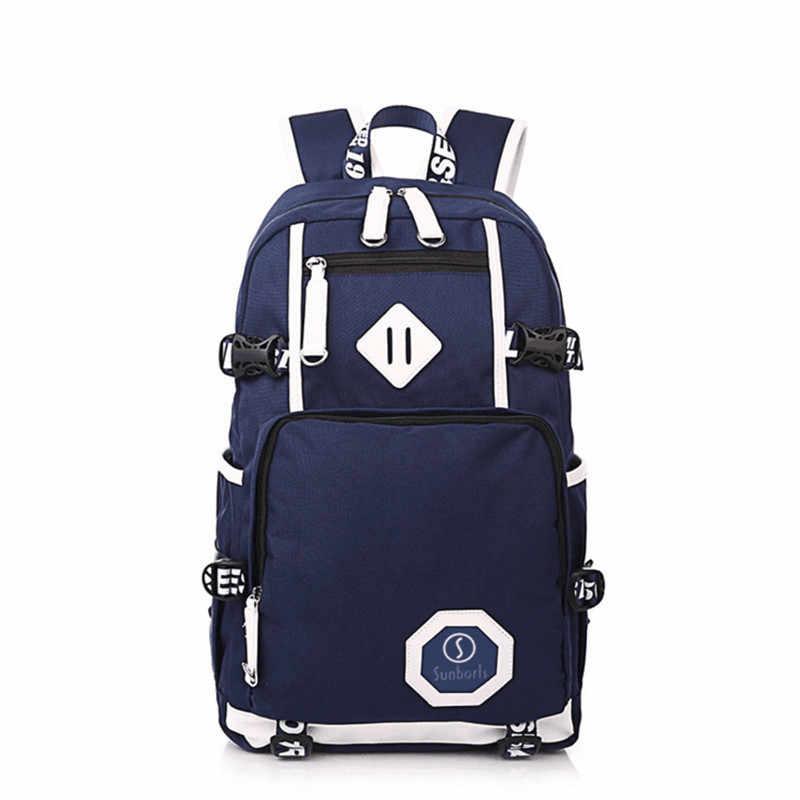 Sports de plein air poids léger étanche sac à dos voyage randonnée sac Zipper réglable ceinture Camping sac à dos hommes femmes enfant