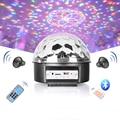 9 ColorS Bluetooth KED MP3 Crystal Magic Ball Light KTV Flash Laser Stage Lighting Bar Ball Rotating Festival Party led Lights