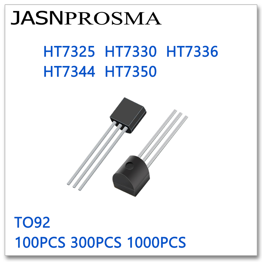JASNPROSMA TO92 HT7325 HT7330 HT7336 HT7344 HT7350 100PCS 300PCS 1000PCS High Quality New Goods