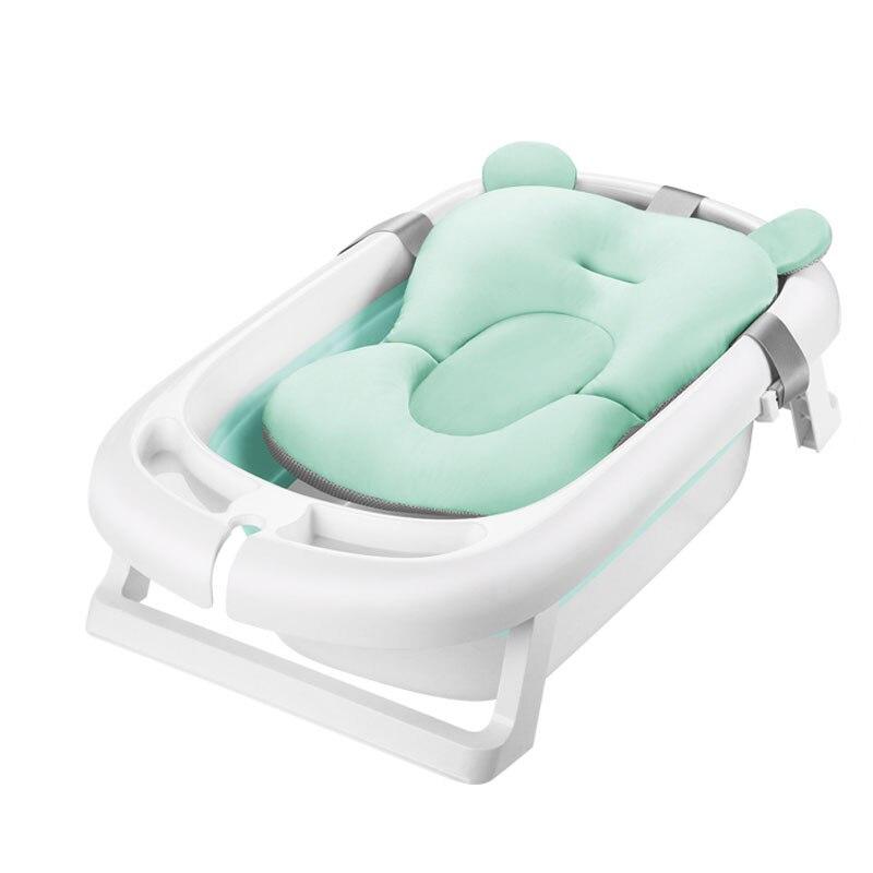Newborn Baby Folding Bath Tub Baby Swim Tubs Bath Body ...