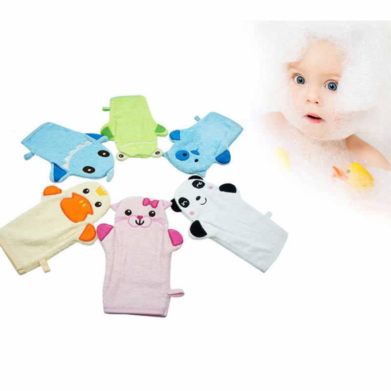Bayi Kartun Sarung Tangan Mandi Handuk anak Glove Untuk Mandi Bayi Lucu Hewan Bentuk Katun Mandi Sikat Dari Anak Aksesoris anak-anak