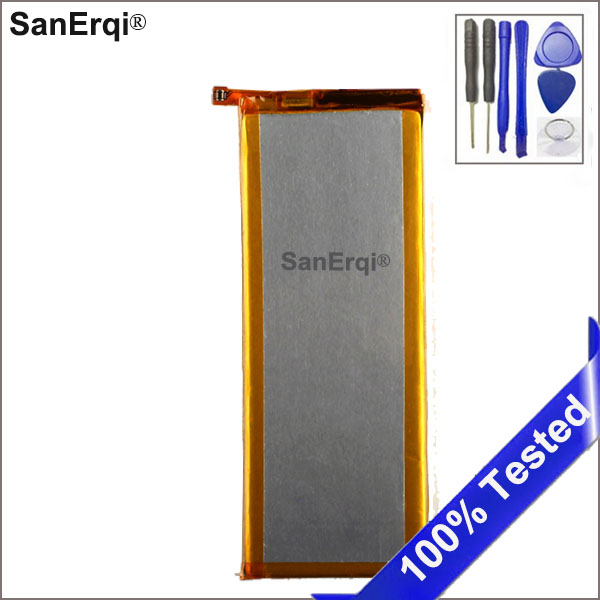 SanErqi For <font><b>Huawei</b></font> HB3543B4EBW Li-ion phone battery For <font><b>Huawei</b></font> <font><b>Huawei</b></font> Ascend <font><b>P7</b></font> <font><b>L07</b></font> L09 L00 L10 L05 L11 2460mAh With Tools image