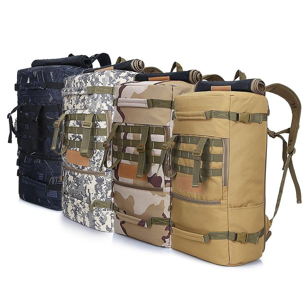 50L randonnée sac à dos en plein air tactique sac à dos respirant imperméable grande capacité sac de voyage Trekking sac à dos pour la randonnée